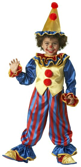 Clownin' Round Toddler Costume