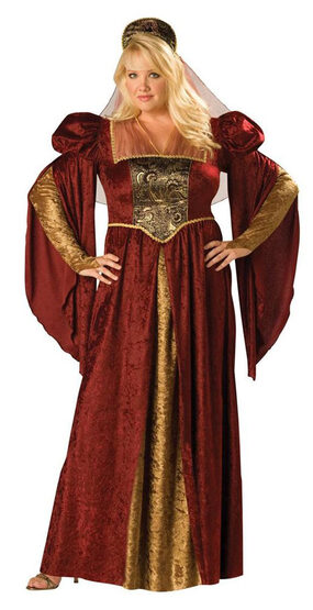 Renaissance Maiden Plus Size Costume