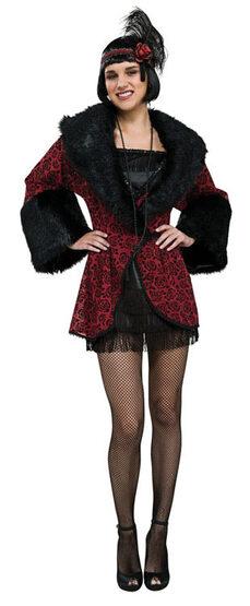 1920s Adult Flapper Dress Coat