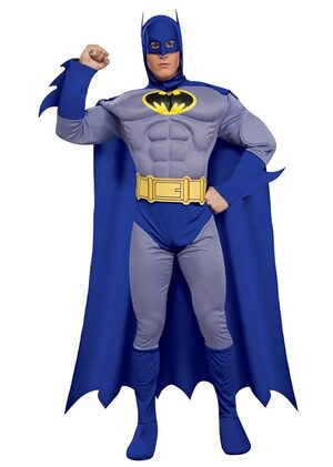Batman Muscle Chest Deluxe Adult Costume