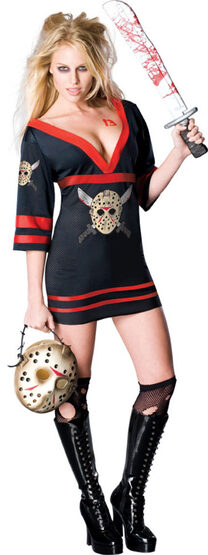 Scary Miss Voorhees Sexy Costume