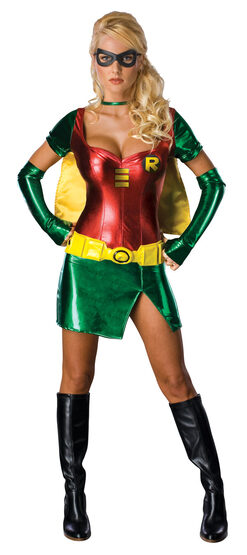 Sexy Female Robin Costume