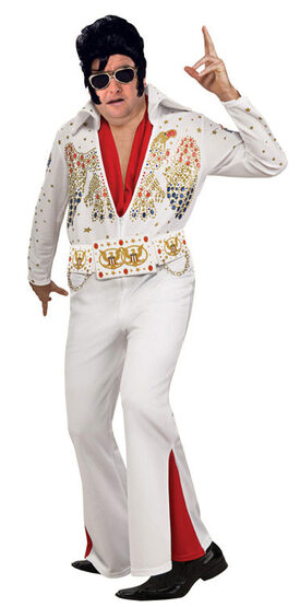 Elvis Deluxe Plus Size Costume
