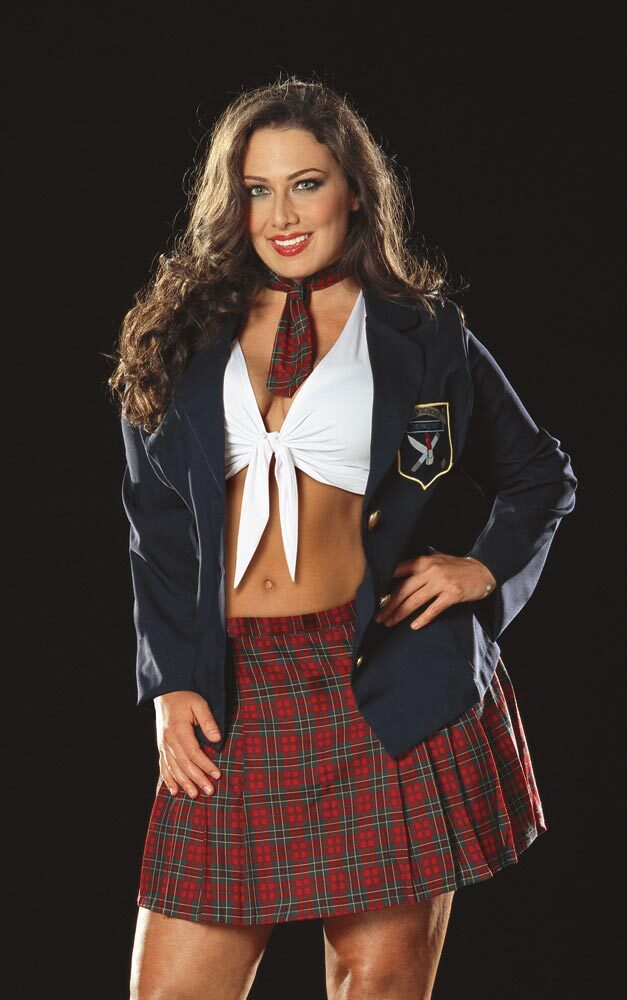 Size S Small Adult Women/'s 4 Piece Prep School Girl Costume Dreamgirl 4013