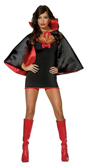 Sheila Tackya Sexy Vampire Costume