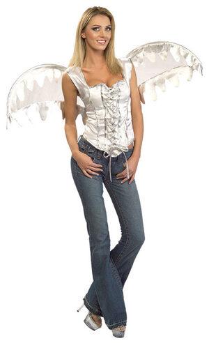 White Corset Sexy Angel Costume