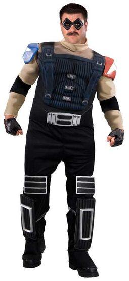 Watchmen Comedian Deluxe Plus Size Costume