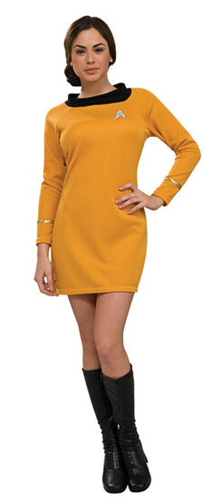 Star Trek Gold Deluxe Adult Costume