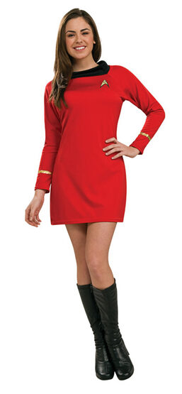 Star Trek Red Deluxe Adult Costume