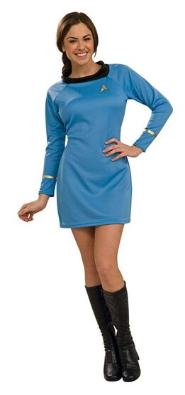 Star Trek Blue Deluxe Adult Costume
