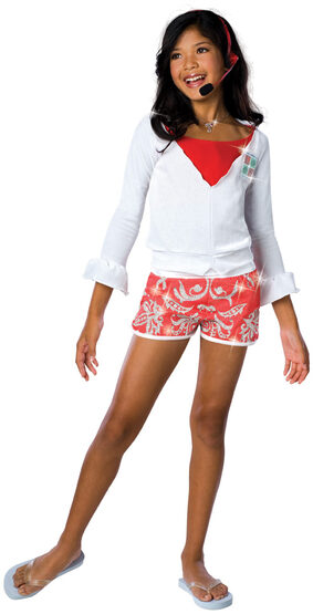 High School Musical Gabriella Lifeguard Kids Costume