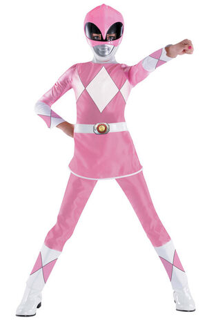 Pink Power Ranger Kids Costume