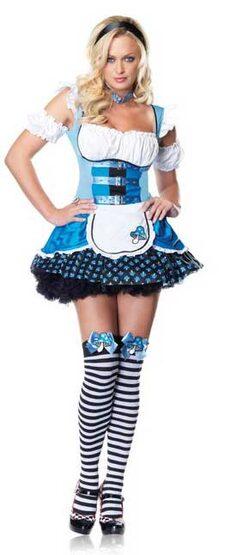 Alice in Wonderland Magic Mushroom Sexy Costume