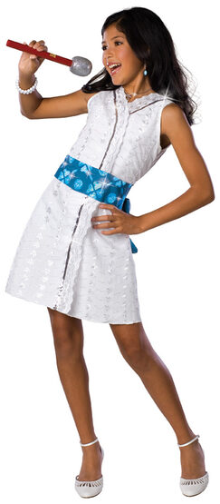 High School Musical Gabriella Star Dazzle Deluxe Kids Costume