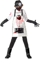 open heart surgeon scary kids costume