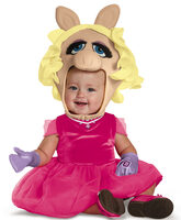 miss piggy baby costume