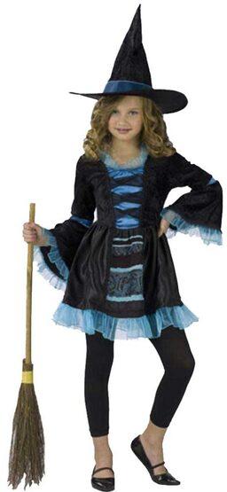 Kids Sassy Victorian Witch Costume