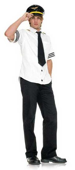 Captain Fetish Air Adult Pilot Costume