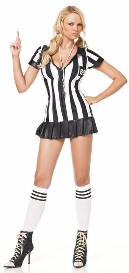 Game Official Sexy Referee Costume