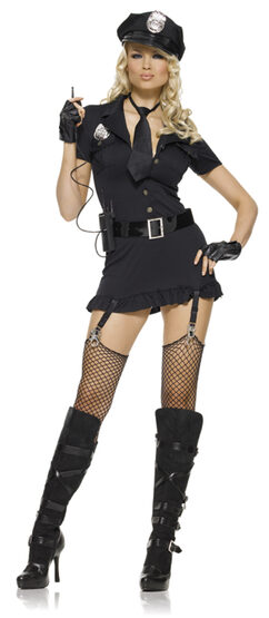 Dirty Sexy Cop Costume