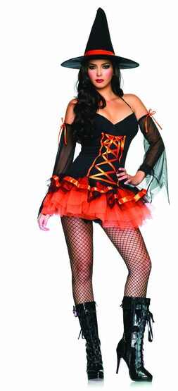 Hocus Pocus Hottie Sexy Witch Costume