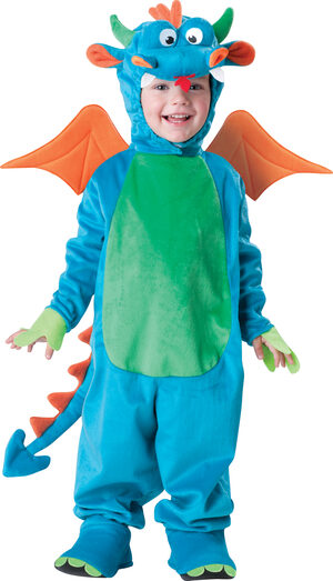 Blue Dinky Dragon Baby Costume