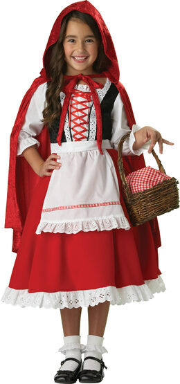 Elite Girls Little Red Riding Hood Kids Costume