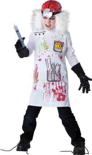 Boys Mad Scientist Kids Costume