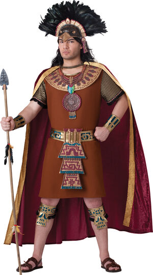 Mens Elite Mayan King Adult Costume