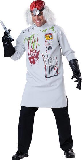 Mens Mad Scientist Adult Costume