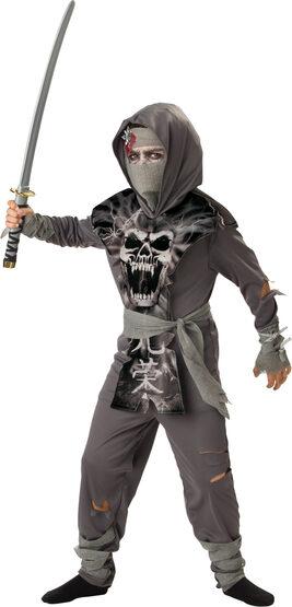 Boys Zombie Ninja Kids Costume