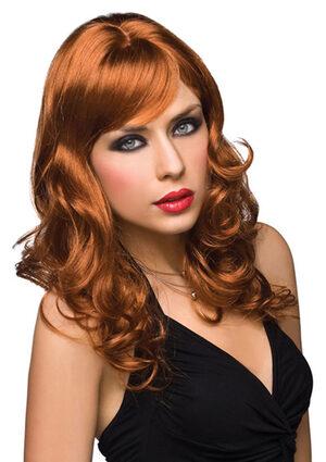 Aubrey Red Curly Wig