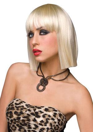 Katie Blonde Gothic Wig