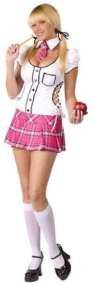 Sexy Scholar School Girl Costume