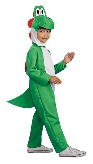 Kids Mario Brothers Yoshi Costume