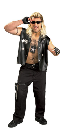 Dog The Bounty Hunter Plus Size Costume