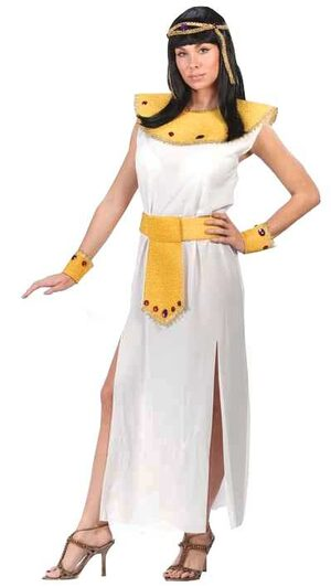 Womens Beaded Adult Cleopatra Costume
