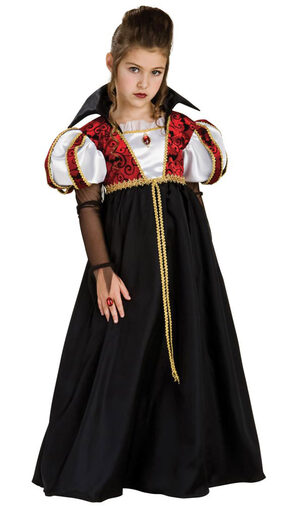 Kids Royal Vampiress Costume
