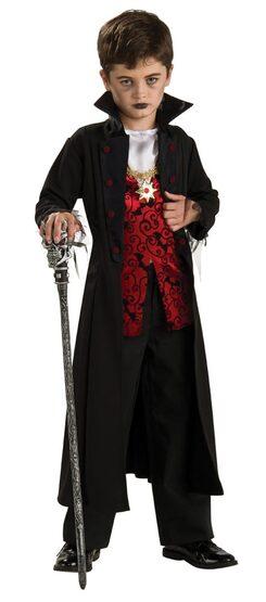 Kids Royal Vampire Costume
