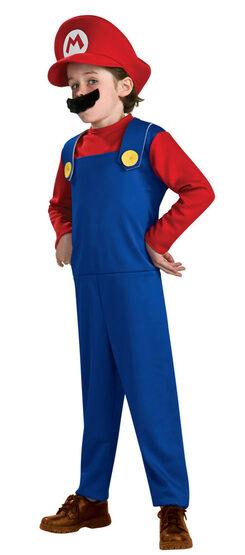 Kids Super Mario Costume