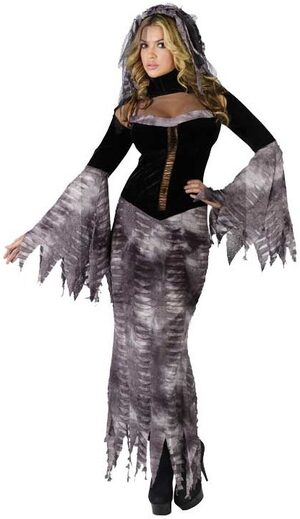 Womens Bride of Darkness Adult Costume