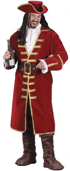 Adult Captain Black Heart Mens Pirate Costume