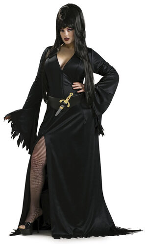 Elvira Plus Size Sexy Vampire Costume
