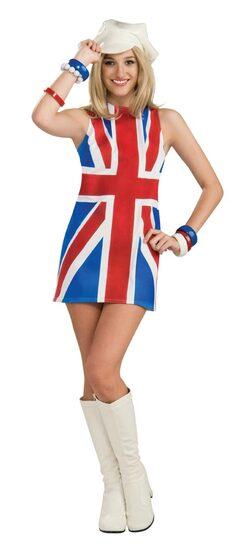 British Invasion Sexy 60s Costume
