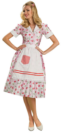 Adult 50s Housewife Costume