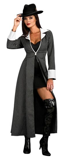 Womens Gangster Coat