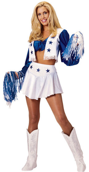 Dallas Cowboys Cheerleader Costume
