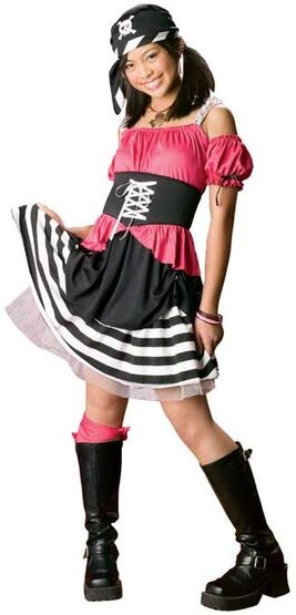 Girls Sweet Pirate Costume