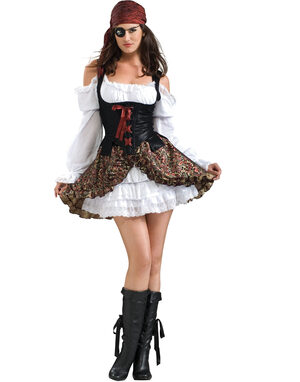 Buccaneer Babe Sexy Pirate Costume