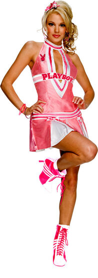 Playboy Sexy Cheerleader Costume
